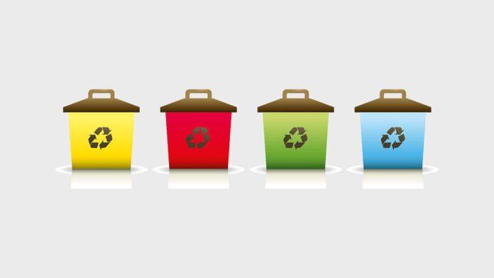 Мусор, раздельный сбор мусора, контейнер