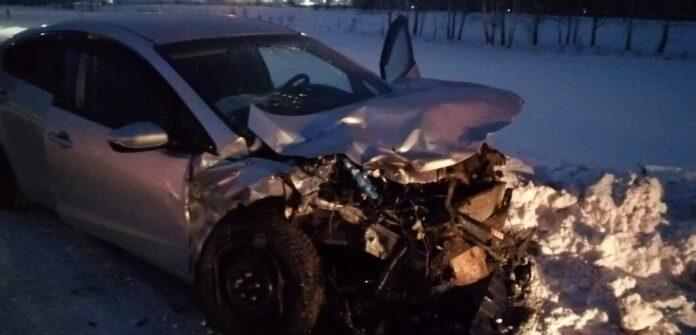 ДТП Белово. Авария с участием четырех автомобилей произошла 15 января на улице Полярная