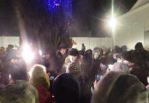 Народный сход в мкр Забайкальский в Улан-Удэ