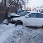 ДТП Белово, улица Октябрьская, 19 января 2021 г