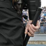 Митинг, полицейский, дубинка