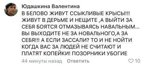 Сектант Навального оскорбляет людей