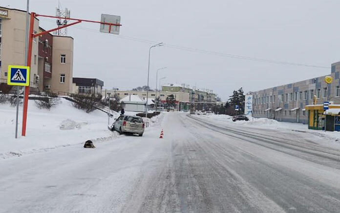 ДТП Белово на переходе автомобиль сбил девочку, 24 января 2021 г