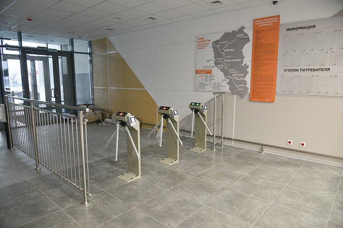 В Белове завершилось строительство автовокзала