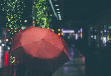 Дождь, зонт