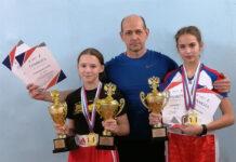 Герман Гаврилов, Полина Степанькова и Ольга Воробьева