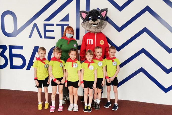 Малыши Кузбасса шагают в ГТО