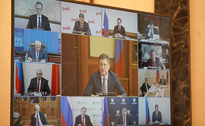 Владимир Путин. Совещание по вопросам развития угольной отрасли, 2 марта 2021