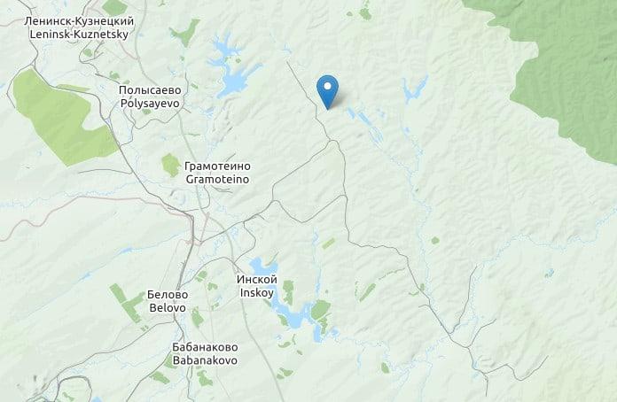 Землетрясение, Беловский район, 12 марта 2021 г