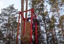 В Кузбассе установили рекорд — построили самую высокую башню из блинов.