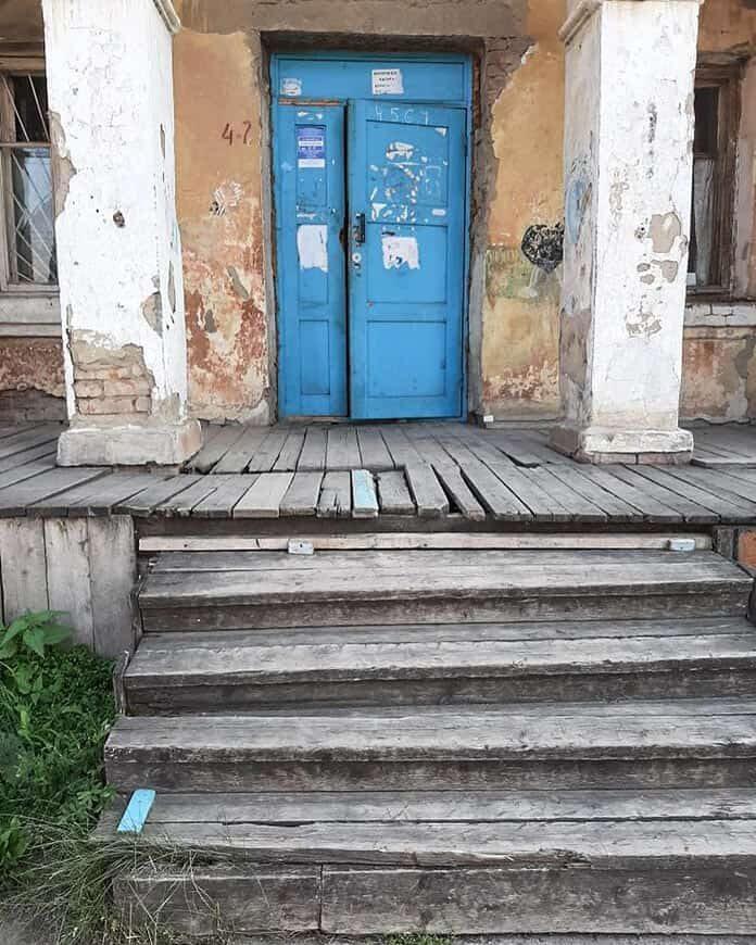 Аварийное жилье в поселке Инской, Белово
