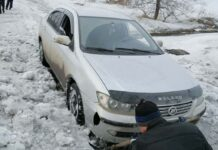 Белово превратился в снежное болото