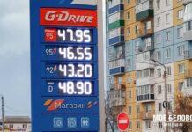 Заправка, АЗС, бензин, цена