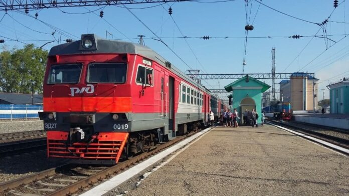 Кузбасс-пригород, электричка, электропоезд