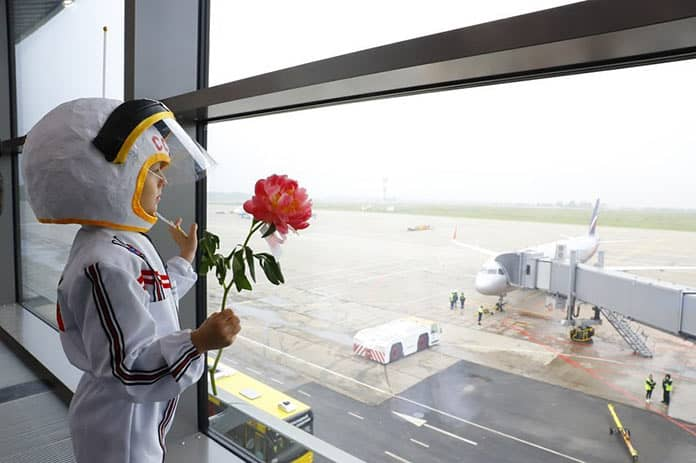 В Кемерове открылся новый терминал аэропорта имени Леонова