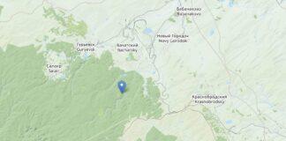 Землетрясение Бачатский 22 сентября 2021