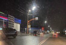 В Белово пьяная женщина попала в ДТП на пешеходном переходе