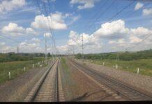 Железная дорога, перегон Бочаты-Белово