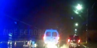 В Белово в третьем микрорайоне в ДТП погиб пешеход. 7 октября 2021